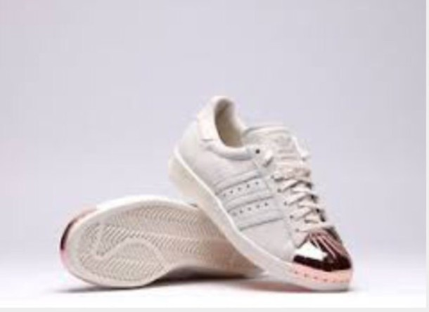 8c57ab179fd8d shoes rose gold adidas adidas shoes sneakers grey adidas sneakers trainers  adidas superstars shoes adidas sneakers