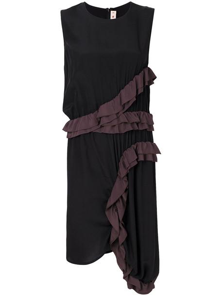 MARNI dress women black silk