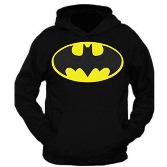 New style batman hoodie pullover black all size s m l xl