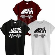 Arctic Monkeys Sound Wave T Shirt TEE TOP Rock Band Concert Album High | eBay