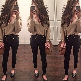 black pants jeans t-shirt leggings high waisted jeans high waist denim jewels high waisted pants skinny pants top high waisted bag style red lime sunday classy high heels iphone case lace up crochet smartphone denim shirt gold sequins heels