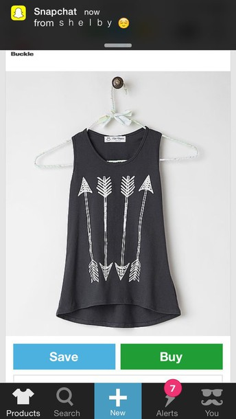 shirt black and white arrows t-shirt