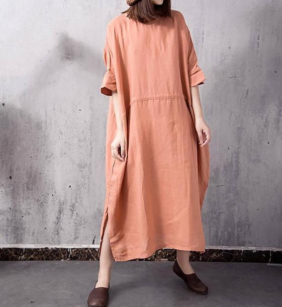 dress large size long dress