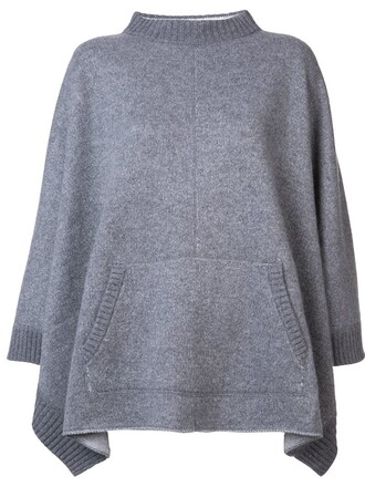 cape grey top