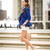 Cobalt City :: Royal blue blazer & Tod's loafers : Wendy's Lookbook