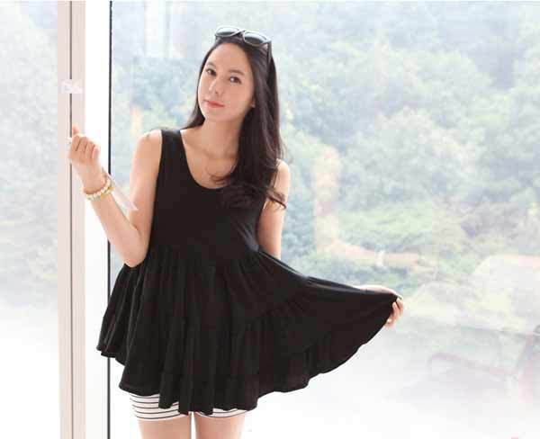fashion maternity wear clothing summer cotton dress skirt tops Pregnant women Shirts #9695 | Amazing Shoes UK