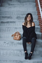 chictalk,blogger,jeans,jacket,shoes,black sweater,fall outfits,sweater,ankle boots