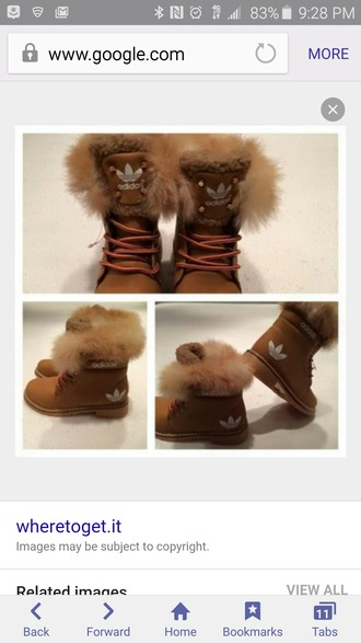 shoes womens adidas fur lined boots