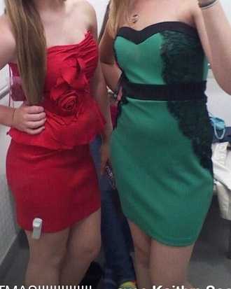dress 2012 green dress bodycon dress macys