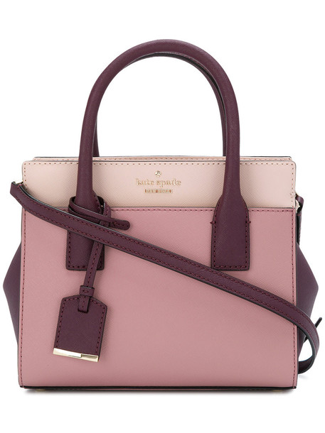 Kate Spade women bag crossbody bag leather purple pink