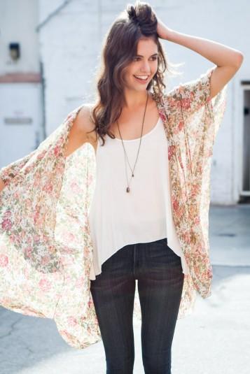 Alexis kimono top v65a
