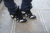 black shoes,isabel marant,shoes