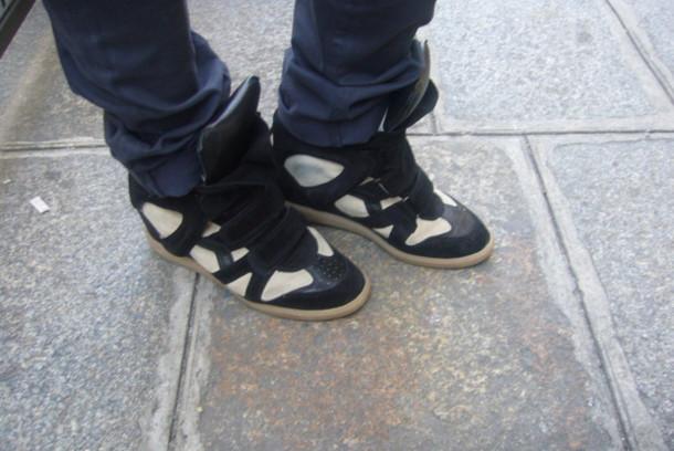 black shoes isabel marant