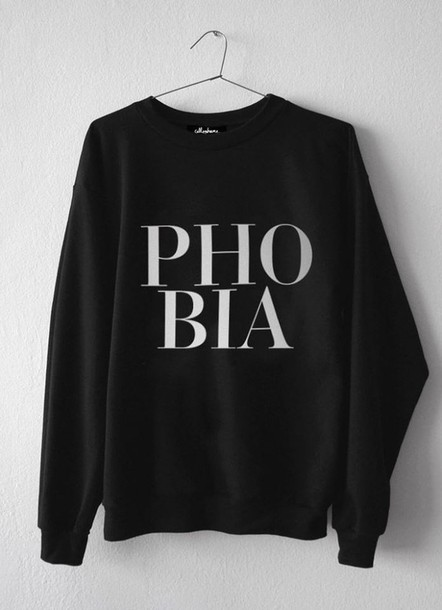 jumpsuit jumper phobia black baggy typography