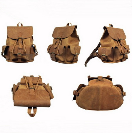 Perfect retro everyday leather backpack for women · vintage rugged canvas bags · online store powered by storenvy