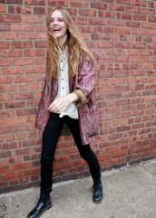 jacket,coat,vintage,paisley