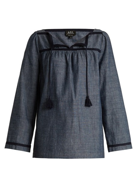 A.P.C. top cotton