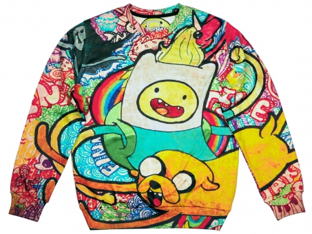 Original SEXY SWEATER ADVENTURE TIME | Fusion® clothing!