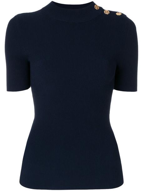 sweater women spandex blue