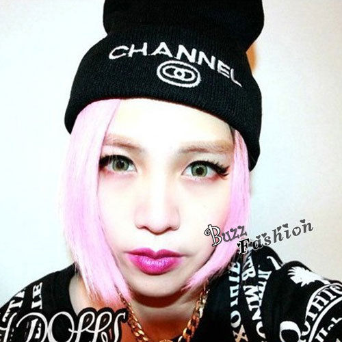 CHANNEL Black / Grey Unisex Women Men Winter Warm Hip-Hop Knitted Beanie Cap Hat | eBay