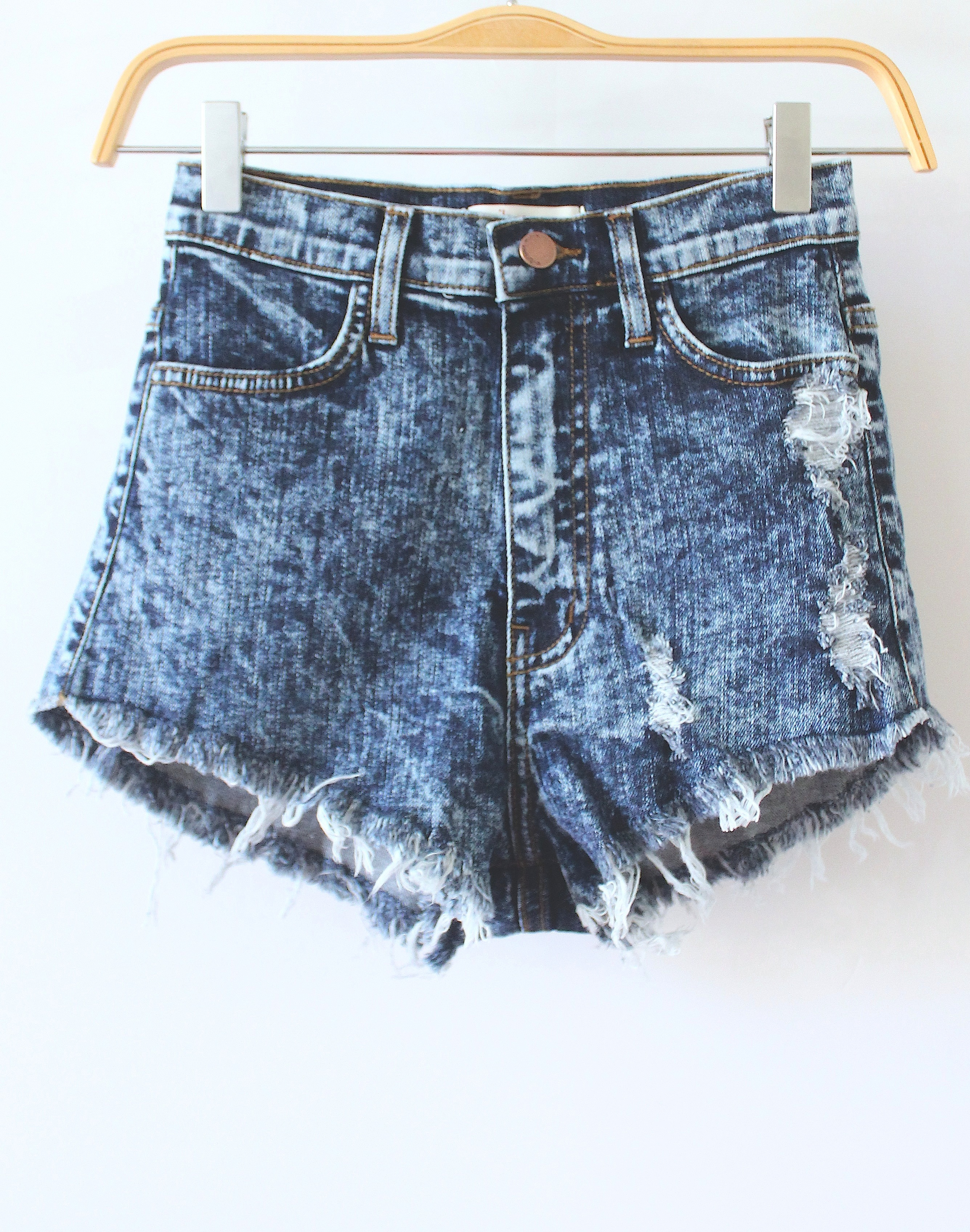 Waisted shorts from love junkee on storenvy
