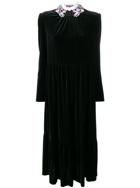 VIVETTA dress women spandex black