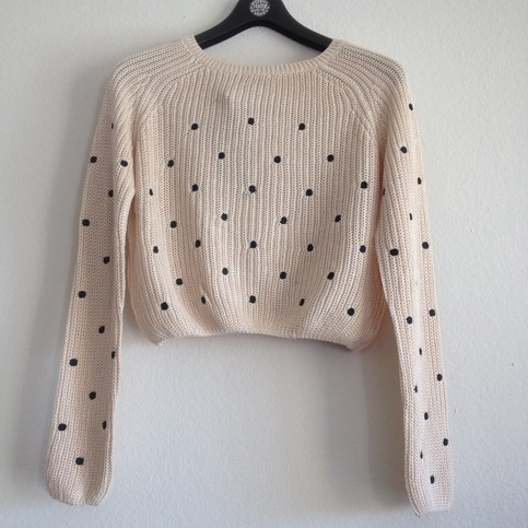 L' Amour à la Mode | Polkadots sweater