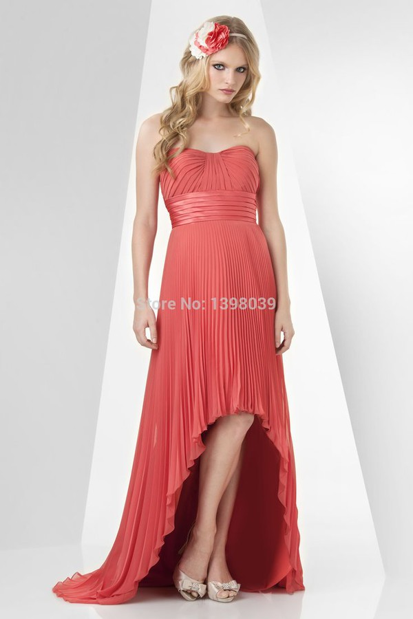 long formal dress gowns bridesmaid high low bridesmaid dresses 2014 long red dress