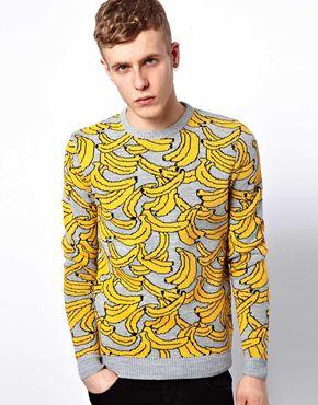 Asos banana jumper at asos