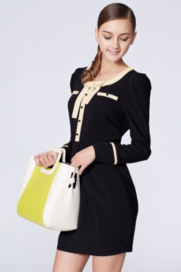 dress persunmall black dress black elegant dress
