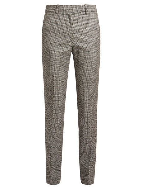 fancy wool grey pants