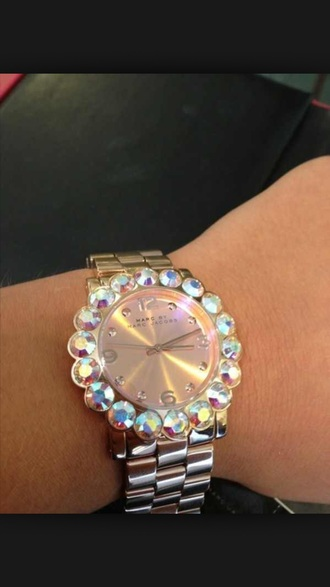 jewels marc by marc jacobs watch gold diamonds