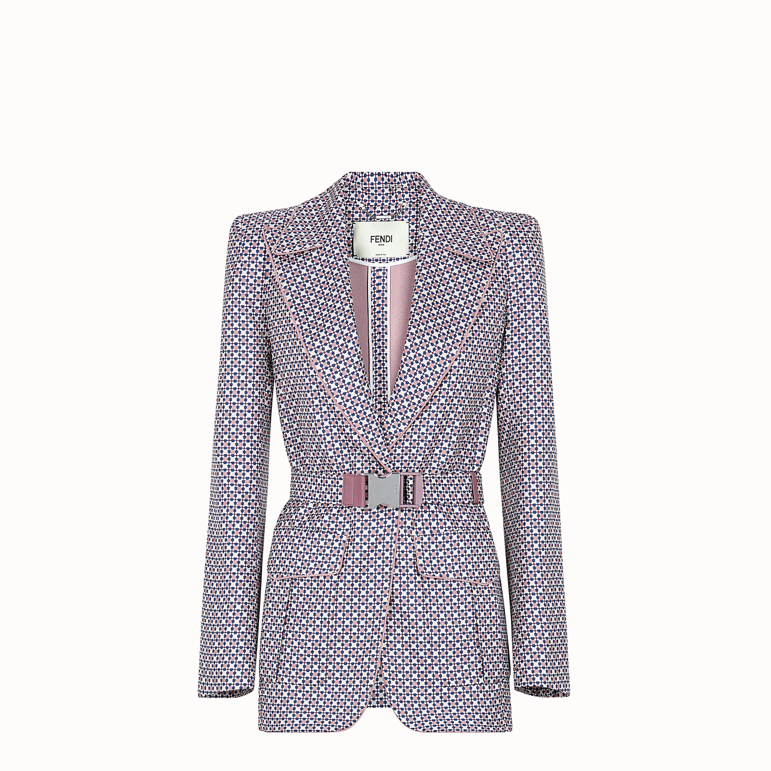 Multicolor silk blazer - JACKET | Fendi
