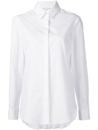 shirt classic white top