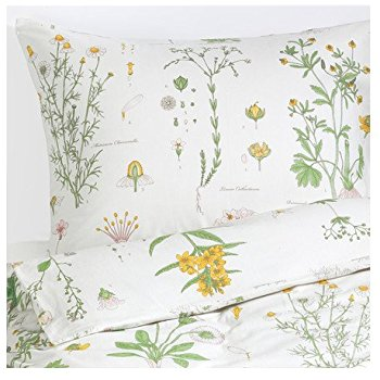 Amazon.com: Strandkrypa 3 Piece Queen Duvet Cover and Pillowcases, Floral Patterned, White: Home & Kitchen