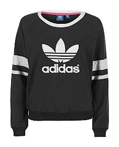 preisvergleich adidas damen lang rmliges sweatshirt logo. Black Bedroom Furniture Sets. Home Design Ideas