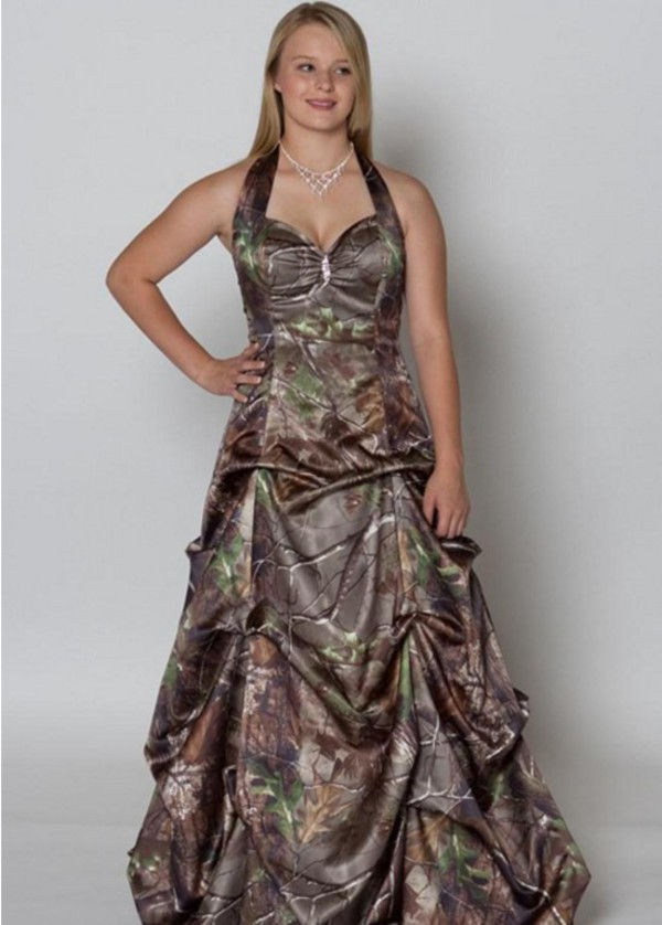 Dress camouflage bridal gown wheretoget for Where to buy camo wedding dresses