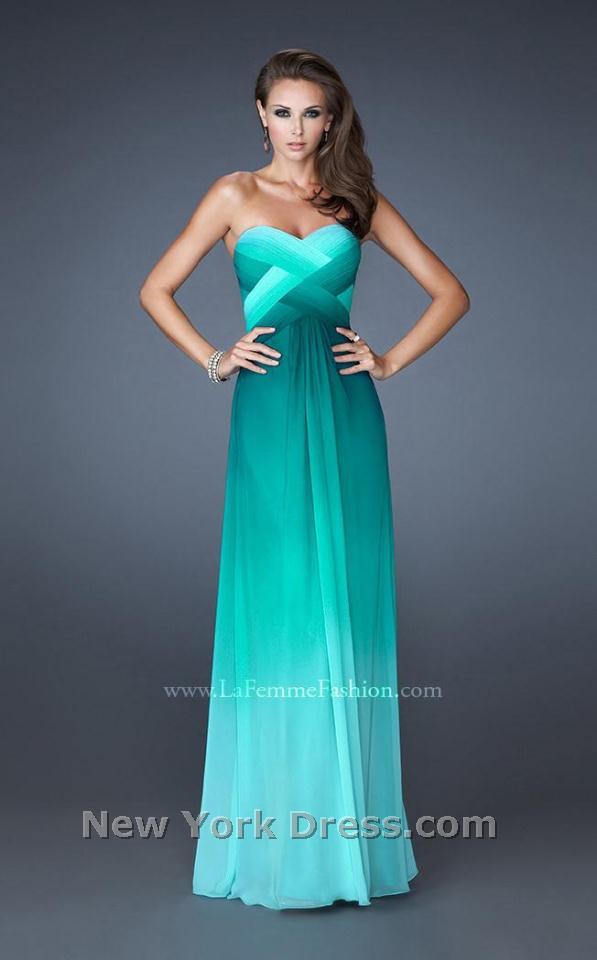 La Femme 18525 Dress - NewYorkDress.com