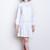 White 60s Cotton Dress