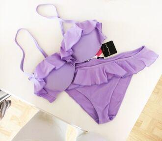 swimwear lavender swimsuit lavender bikini bikini