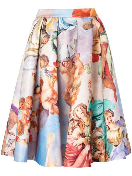 Moschino skirt women print