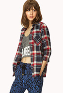 Forever Cool Plaid Shirt | FOREVER21 - 2000107719