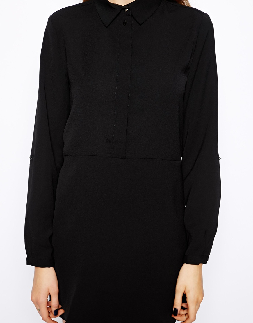 Mango Shirt Dress at asos.com