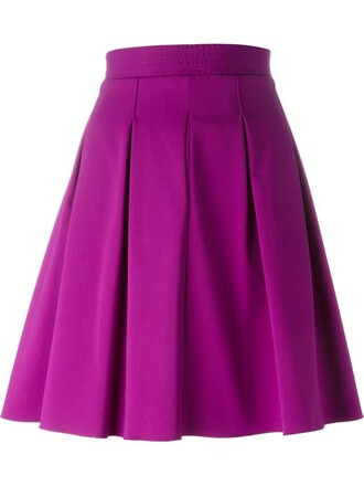 skirt pleated skirt pleated purple pink