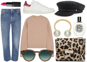 jane's sneak peak blogger jeans sunglasses bag make-up jewels