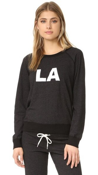 sweatshirt vintage black sweater