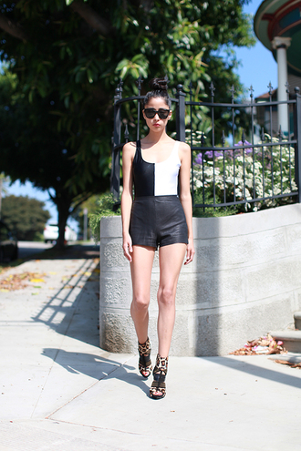 shorts shoes sunglasses chic muse