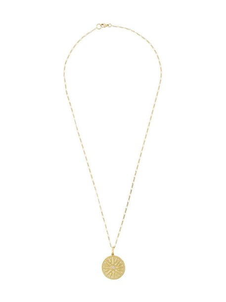 Orit Elhanati women necklace gold yellow grey metallic jewels