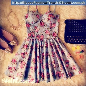 Blue bell bustier dress philippines