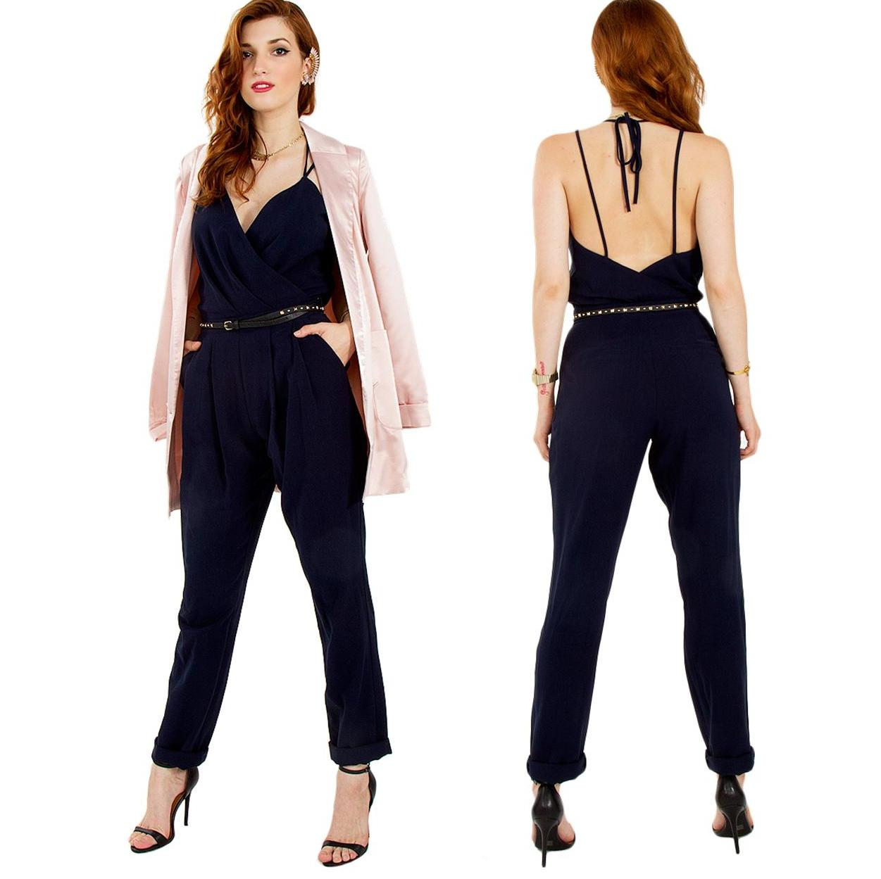 Midnight hour blue jumpsuit · trendyish · online store powered by storenvy